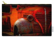 Old Plymouth Red Carry-all Pouch