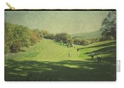 Old Postcard Of Golf Buddies At The Homestead Carry-all Pouch