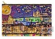 Old Prague Magic - Wallpaper Carry-all Pouch by Daniel Janda