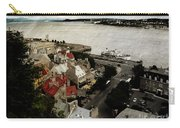 Old Quebec City By St.lawrence Carry-all Pouch