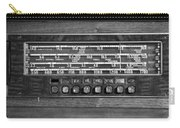 Old Radio Change The Station Carry-all Pouch