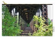 Old Railroad Car Bridge Carry-all Pouch