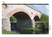 Old Railway Bridge In Silute. Lithuania. Summer Carry-all Pouch