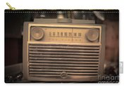 Old Rca Victor Antique Vintage Radio Carry-all Pouch