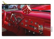 Old Red Chevy Dash Carry-all Pouch
