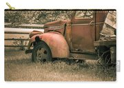 Old Red Farm Truck Carry-all Pouch