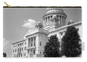 Old Rhode Island State House Bw Carry-all Pouch