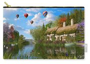 Old River Cottage Carry-all Pouch by Dominic Davison