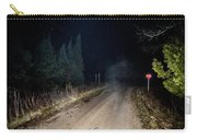 Old Road Night Fog Carry-all Pouch