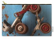 Old Roller Skates Carry-all Pouch