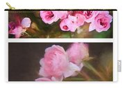 Old Roses Vertical Carry-all Pouch