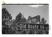 Old Route 66 And Cool Pines Carry-all Pouch