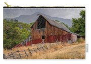 Old Rural Barn In Thunderstorm - Utah Carry-all Pouch