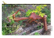Old Rusty Bike In The Weeds 2 Carry-all Pouch