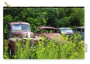 Old Rusty Cars Carry-all Pouch