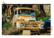 Old Rusty International Flatbed Truck Carry-all Pouch