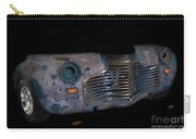 Old Rusty Junk Car In Vivid Colors Carry-all Pouch by Gunter Nezhoda