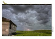 Old School House And Lightning Carry-all Pouch