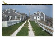 Old 'sconset Nantucket Houses Carry-all Pouch