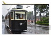 Old Shanghai Trolley Tram Car Rests In Tracks Carry-all Pouch