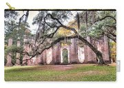 Old Sheldon Church - Bending Oak Carry-all Pouch