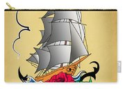 Old Ship Tattoo  Carry-all Pouch