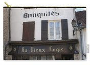 Old Shop In Tournus Carry-all Pouch