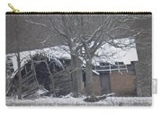 Old Snowy House Carry-all Pouch