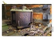 Old Sorghum Press Carry-all Pouch by Debra and Dave Vanderlaan