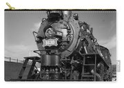 Old Steam Engine Black And White Carry-all Pouch