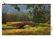Old Stone Bridge Over Kinglas River. Scotland Carry-all Pouch