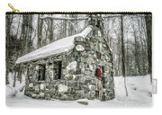 Old Stone Chapel Stowe Vermont Carry-all Pouch
