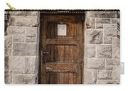 Old Stone Church Door Carry-all Pouch