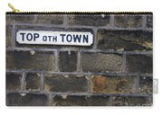 Old Street Sign Carry-all Pouch