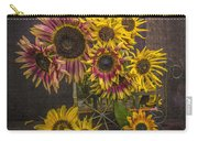 Old Sunflowers Carry-all Pouch