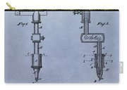 Old Tattoo Gun Patent Carry-all Pouch