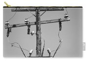 Old Telephone Pole Carry-all Pouch