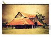 Old Texas Barn Carry-all Pouch by Julie Hamilton