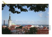 Old Town And Harbor - Tallinn Carry-all Pouch
