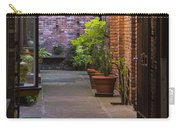 Old Town Courtyard In Victoria British Columbia Carry-all Pouch by Ben and Raisa Gertsberg