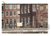 Old Town In Amsterdam Carry-all Pouch