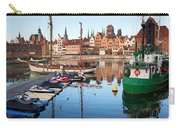 Old Town Of Gdansk Skyline And Marina Carry-all Pouch