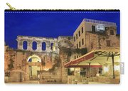 Old Town Of Split At Dusk Croatia Carry-all Pouch