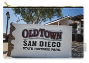 Old Town San Diego State Historic Park Carry-all Pouch