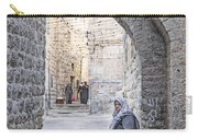Old Town Street Of Jerusalem Israel Carry-all Pouch