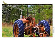 Old Tractor Digital Paint Carry-all Pouch