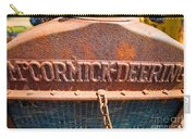 Old Tractor Grille Carry-all Pouch