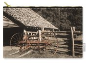 Old Vintage Antique Tractor In Appalachia Carry-all Pouch