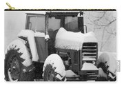 Old Tractor In The Snow Carry-all Pouch