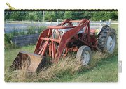 Old Tractor Carry-all Pouch by Jennifer Ancker